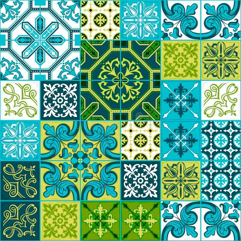 Προσθήκη σχεδίων Azulejo, παραδοσιακή διακόσμηση κεραμιδιών στοκ φωτογραφίες με δικαίωμα ελεύθερης χρήσης