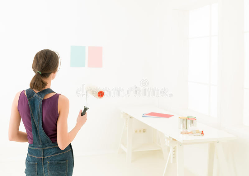 Προσομοίωση χρωμάτων χρωμάτων στοκ εικόνες