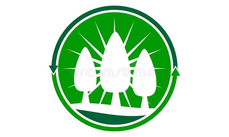 Προσοχή εξωραϊσμού που παίρνει το πρότυπο σχεδίου λογότυπων απεικόνιση αποθεμάτων