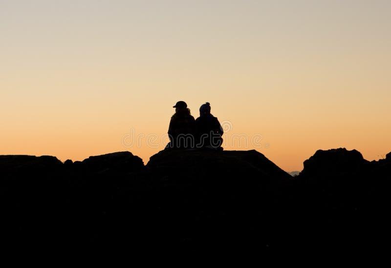 προσοχή ηλιοβασιλέματο& στοκ φωτογραφίες