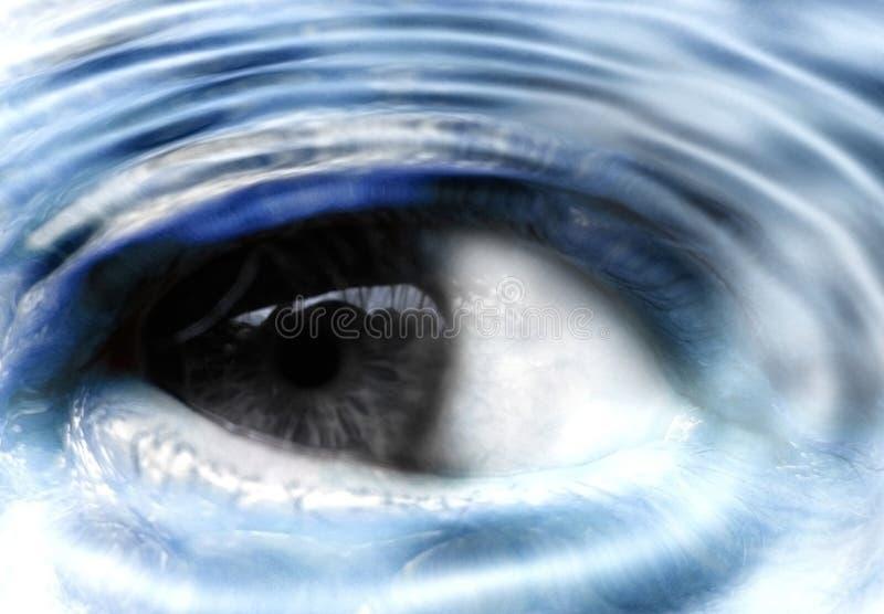 προσοχή ματιών στοκ φωτογραφία με δικαίωμα ελεύθερης χρήσης