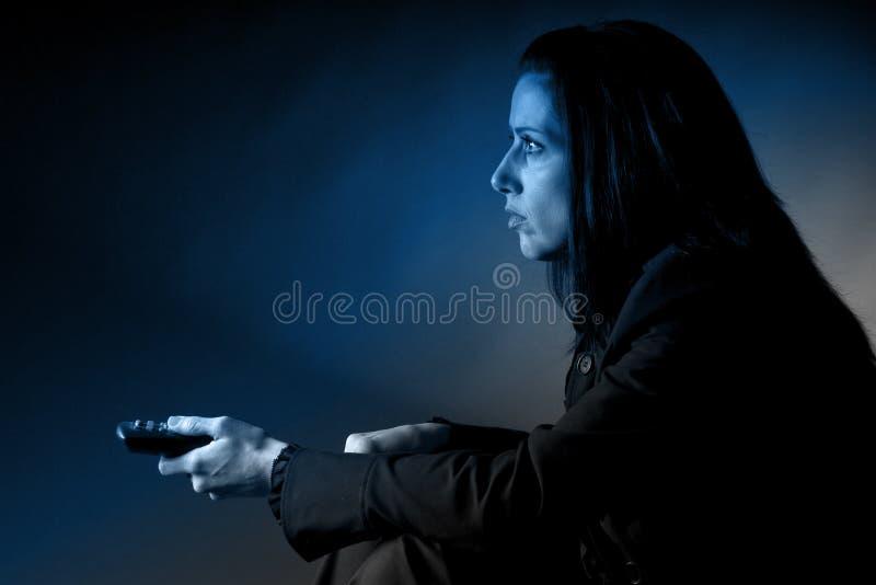 προσοχή TV στοκ φωτογραφία με δικαίωμα ελεύθερης χρήσης