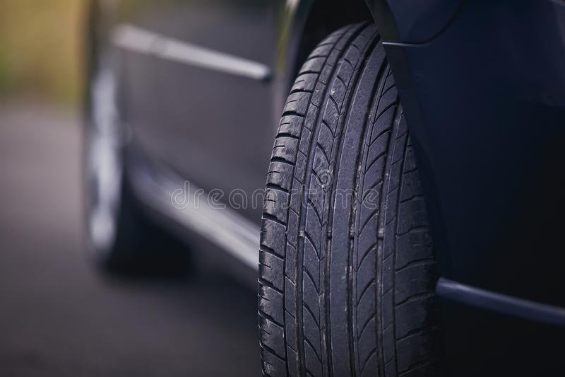 Προστάτης ροδών αυτοκινήτων στοκ φωτογραφίες με δικαίωμα ελεύθερης χρήσης