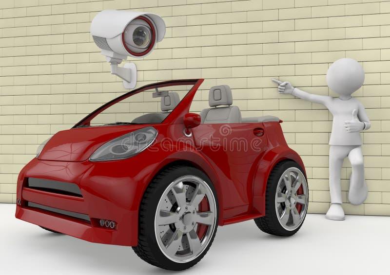 Προστασία αυτοκινήτων ελεύθερη απεικόνιση δικαιώματος