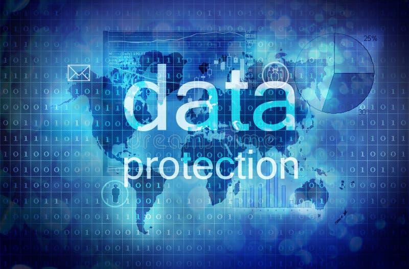 Προστασία δεδομένων ελεύθερη απεικόνιση δικαιώματος