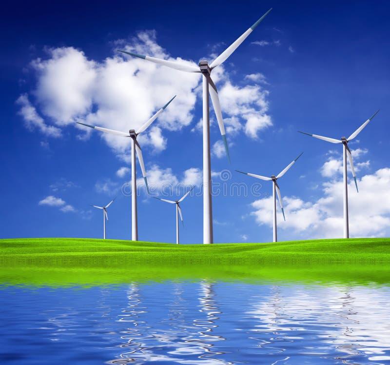 Προστασία του περιβάλλοντος και υγιής ζωή στοκ εικόνες