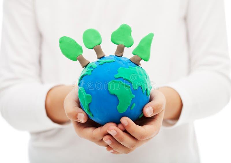 Προστασία των δασών και της έννοιας οικολογίας στοκ φωτογραφία
