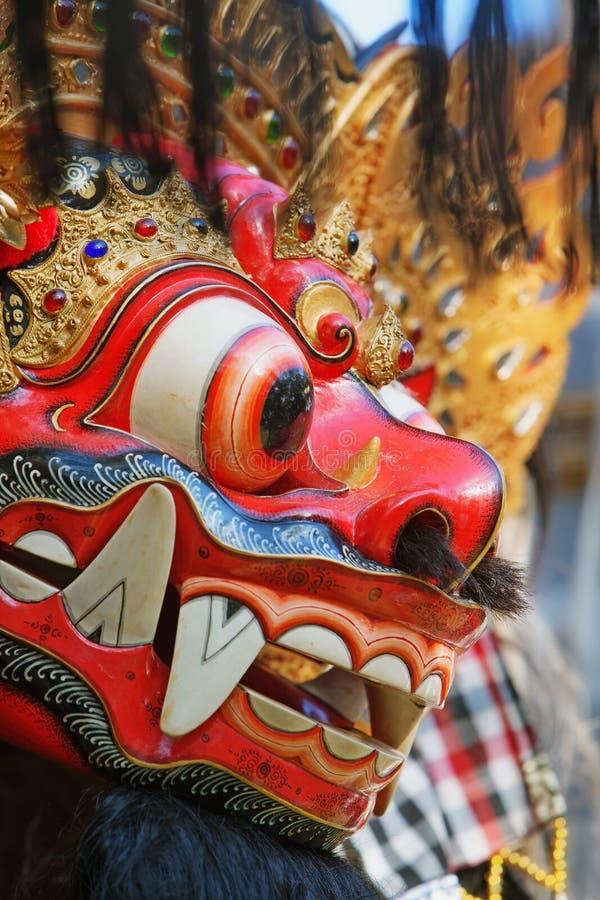 Προστατευτικά πνεύμα και σύμβολο νησιών του Μπαλί - Barong στοκ εικόνες