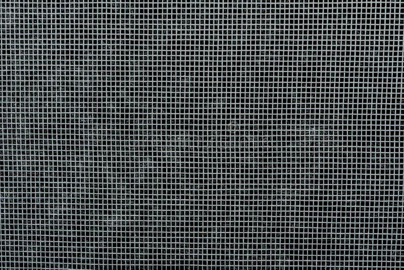 Προστατευτικό πλαστικό πλέγμα με τα μικρά κύτταρα, υπόβαθρο αφαίρεσης κινηματογραφήσεων σε πρώτο πλάνο στοκ εικόνες