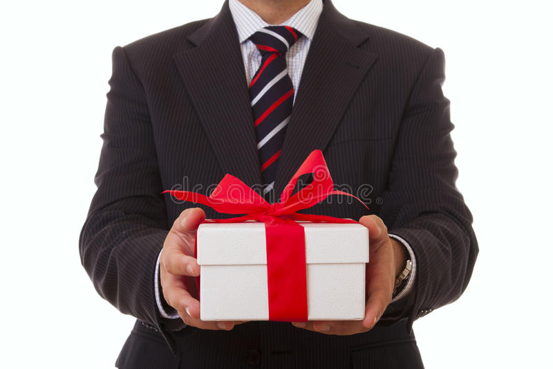 Προσφορά επιχειρηματιών στοκ εικόνες με δικαίωμα ελεύθερης χρήσης