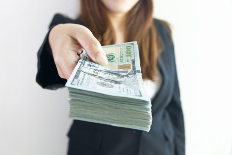Προσφορά των μεγάλων χρημάτων στοκ εικόνες
