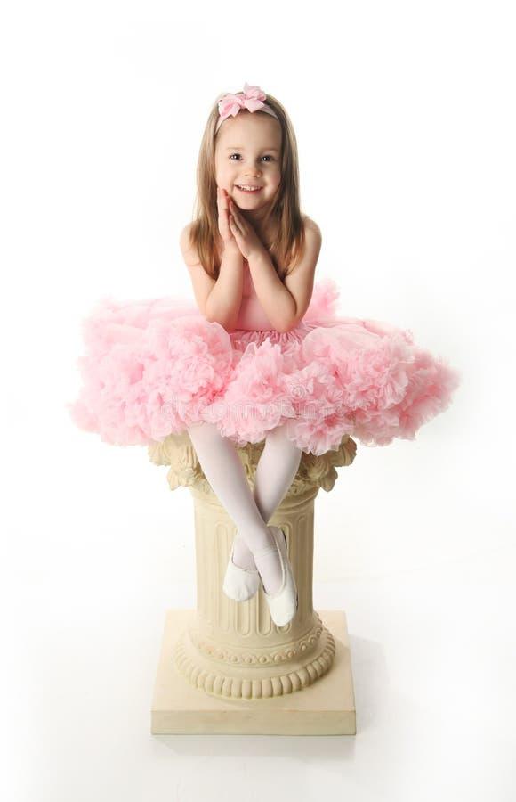 προσχολικός όμορφος ballerina στοκ εικόνα με δικαίωμα ελεύθερης χρήσης