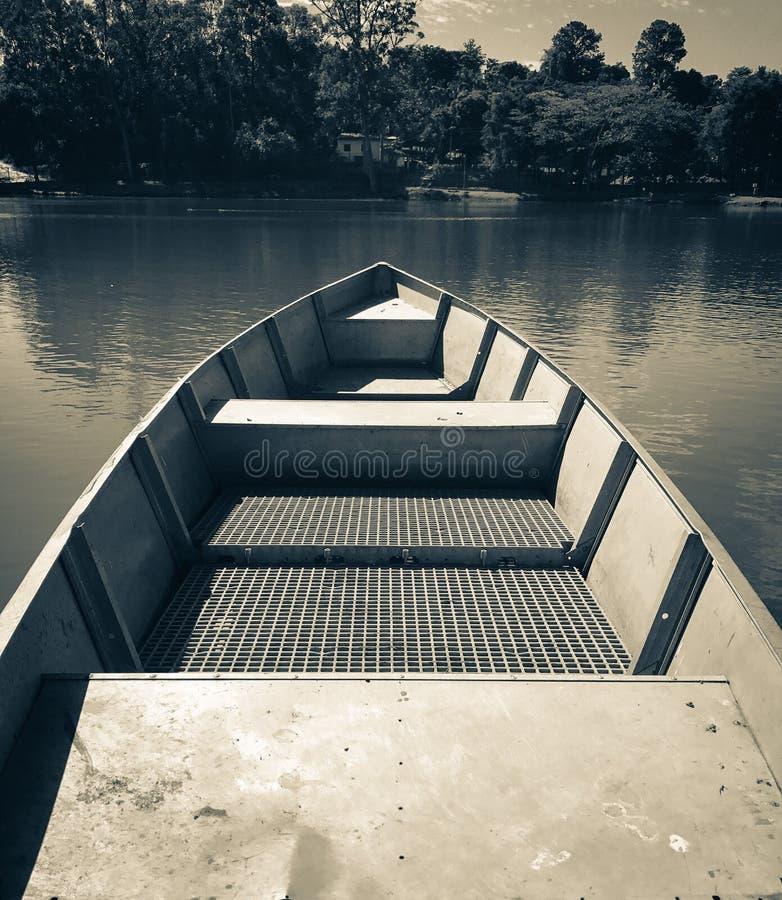 Προσωπική προοπτική μιας βάρκας στοκ εικόνες