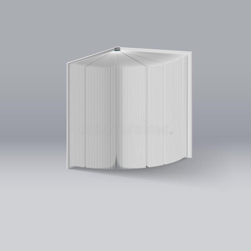 προσωπικό κόκκινο λευκό ημερολογίων βιβλίων ανασκόπησης απεικόνιση αποθεμάτων