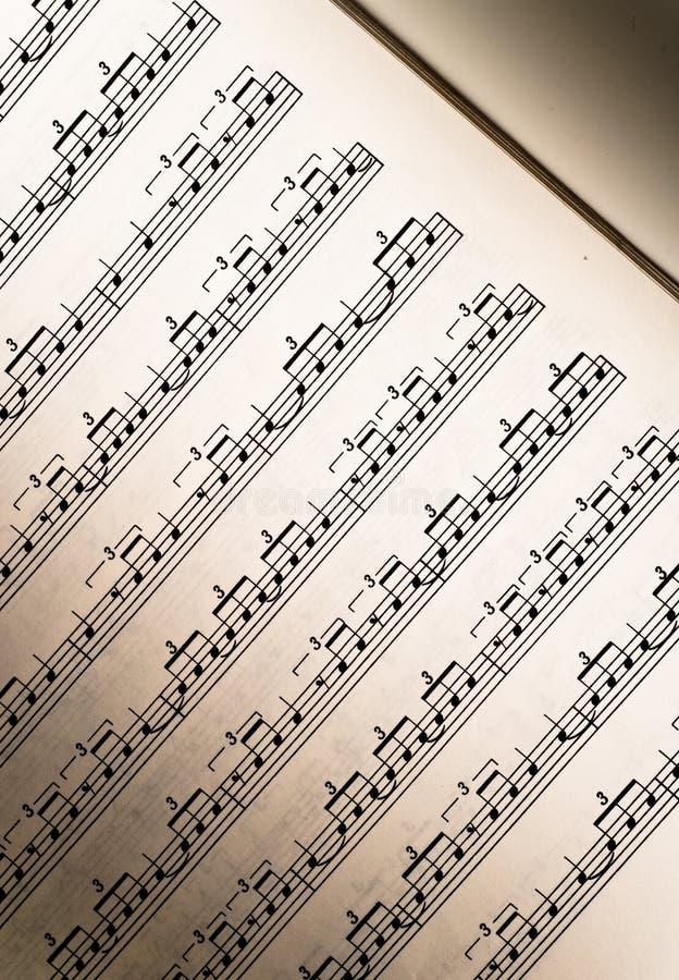 προσωπικό μουσικής μαθημ στοκ φωτογραφία με δικαίωμα ελεύθερης χρήσης