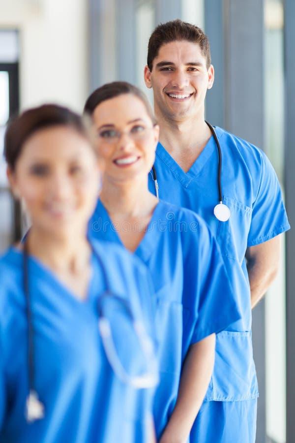 Προσωπικό νοσοκομείου ομάδας στοκ εικόνα με δικαίωμα ελεύθερης χρήσης