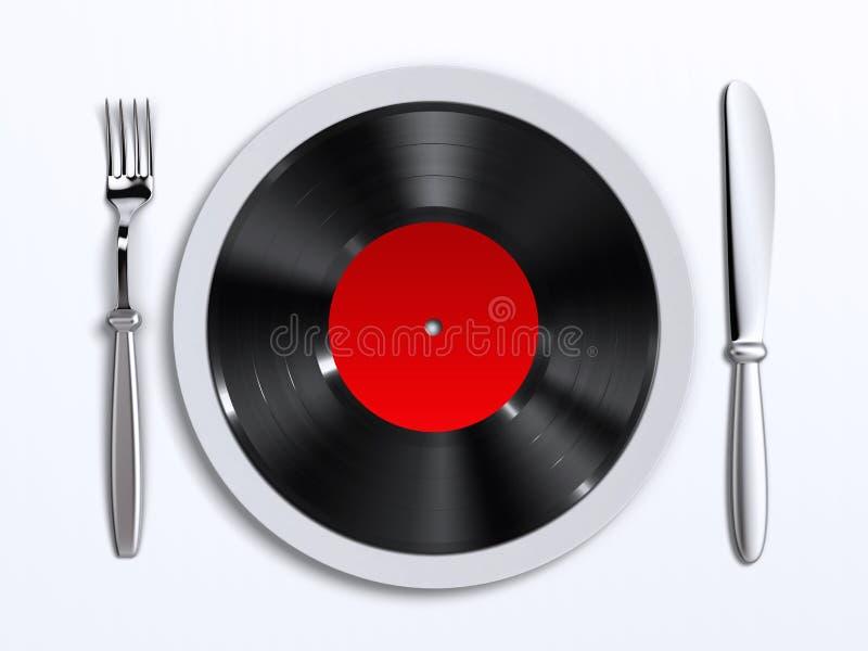 προτίμηση μουσικής απεικόνιση αποθεμάτων
