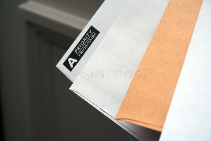 προτεραιότητα ταχυδρομείου άφιξης στοκ φωτογραφίες με δικαίωμα ελεύθερης χρήσης