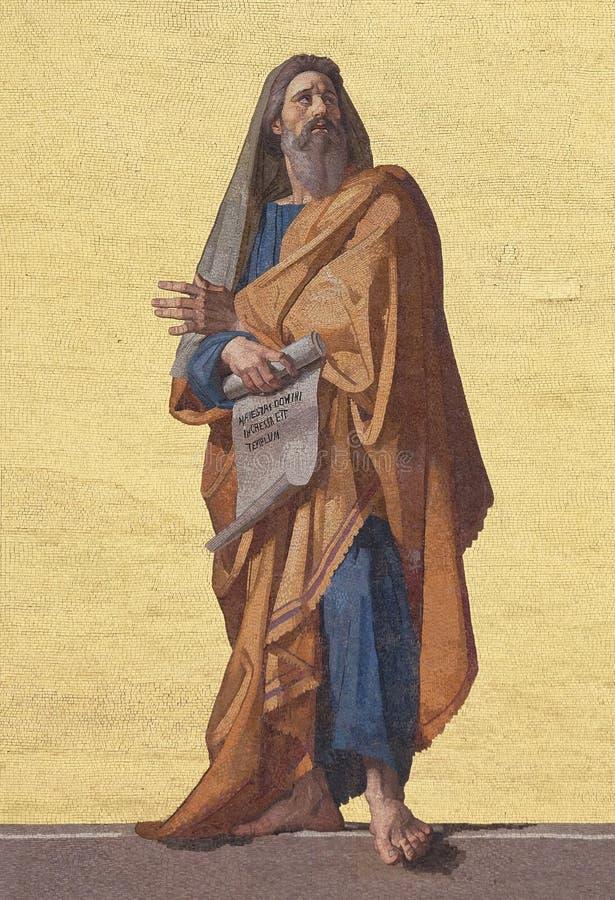 Προφήτης Ezekiel στοκ εικόνα