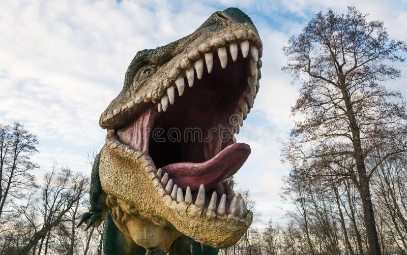 Προϊστορικά ζώα, τυραννόσαυρος στοκ φωτογραφίες με δικαίωμα ελεύθερης χρήσης