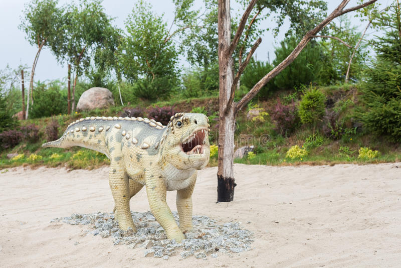 Προϊστορικός δεινόσαυρος στοκ φωτογραφίες