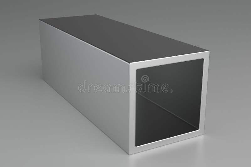 Προϊόντα μετάλλων σωλήνων ή προϊόντα χάλυβα τρισδιάστατη απόδοση απεικόνιση αποθεμάτων