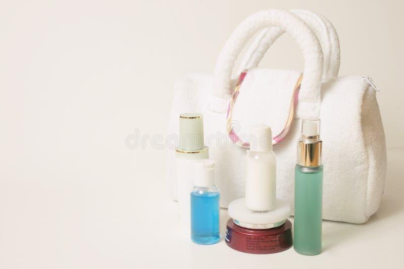 προϊόντα πρώτης ανάγκης skincare στοκ φωτογραφία