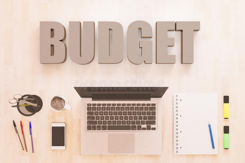 Προϋπολογισμός ελεύθερη απεικόνιση δικαιώματος