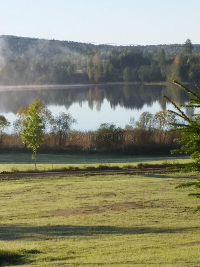 Πρωί από τη λίμνη στοκ εικόνα με δικαίωμα ελεύθερης χρήσης