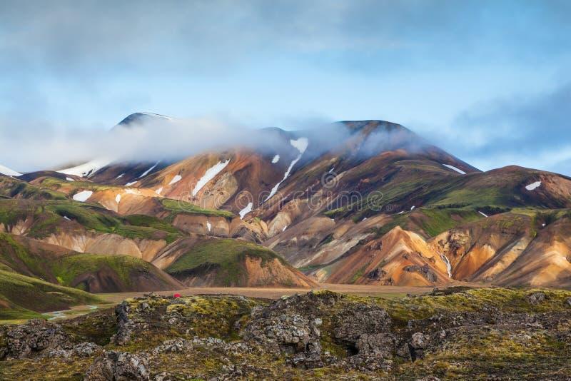 Πρωί αρχών του καλοκαιριού στην Ισλανδία στοκ εικόνα με δικαίωμα ελεύθερης χρήσης
