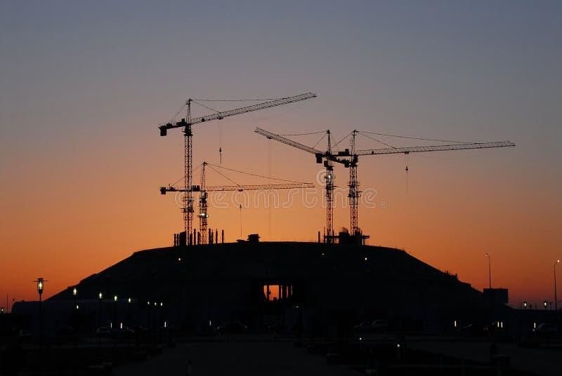 πρωί οικοδόμησης astana νέο στοκ φωτογραφία με δικαίωμα ελεύθερης χρήσης