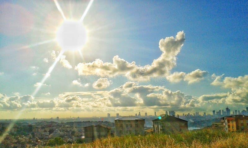 πρωί της Κωνσταντινούπολη& στοκ εικόνα με δικαίωμα ελεύθερης χρήσης