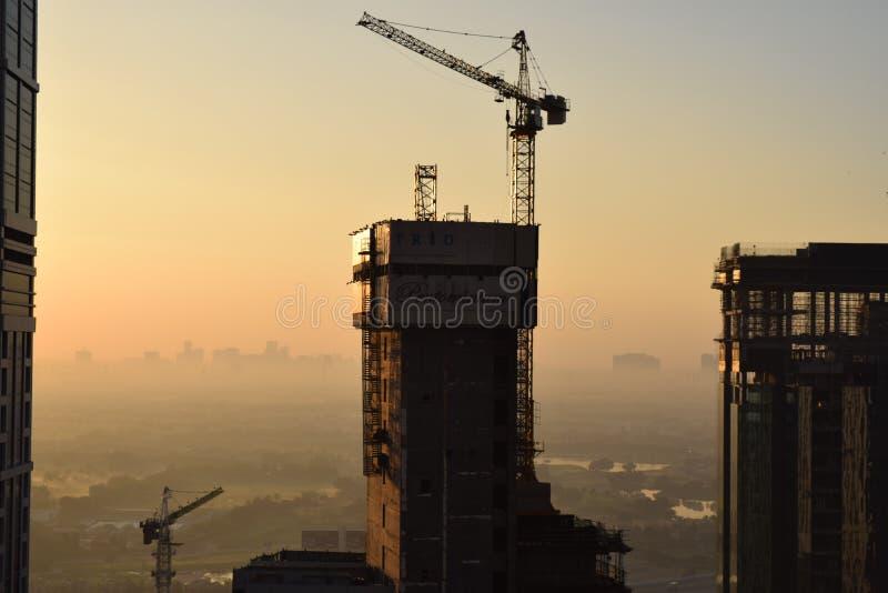 Πρωί του Ντουμπάι στοκ εικόνες με δικαίωμα ελεύθερης χρήσης