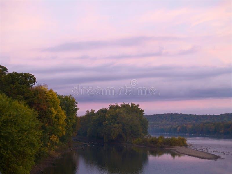 πρωί του Delaware στοκ φωτογραφία με δικαίωμα ελεύθερης χρήσης