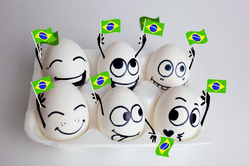 Πρωτάθλημα ποδοσφαίρου της Βραζιλίας στοκ εικόνα