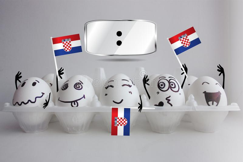 πρωτάθλημα ποδοσφαίρου της Κροατίας στοκ εικόνες