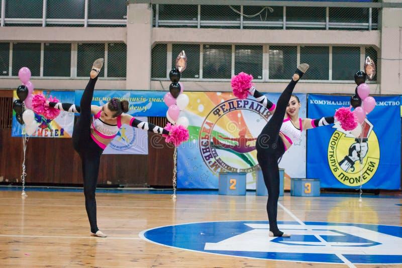 Πρωτάθλημα της πόλης Kamenskoye μεταξύ των solos, τα ντουέτα και τις ομάδες στοκ εικόνα με δικαίωμα ελεύθερης χρήσης