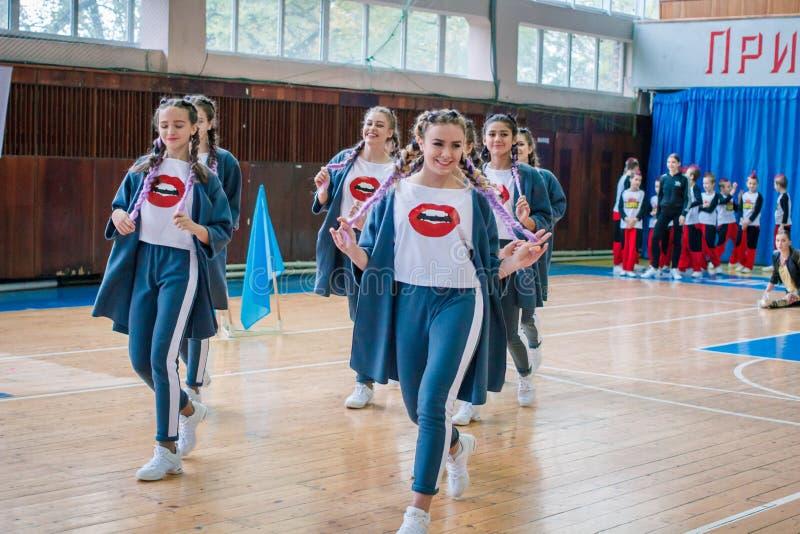 Πρωτάθλημα της πόλης Kamenskoye μεταξύ των solos, τα ντουέτα και τις ομάδες στοκ φωτογραφίες με δικαίωμα ελεύθερης χρήσης