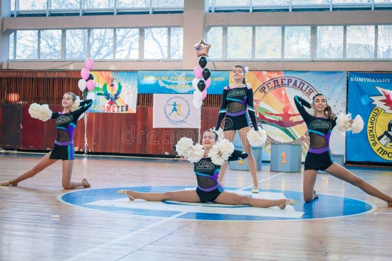 Πρωτάθλημα της πόλης Kamenskoye μεταξύ των solos, τα ντουέτα και τις ομάδες στοκ φωτογραφία με δικαίωμα ελεύθερης χρήσης