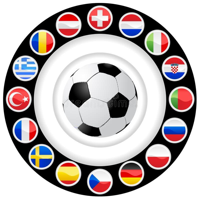 πρωτάθλημα του 2008 ευρωπαϊ&kapp ελεύθερη απεικόνιση δικαιώματος