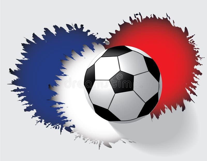 Πρωτάθλημα ποδοσφαίρου της Γαλλίας του 2016 ευρώ στοκ φωτογραφία