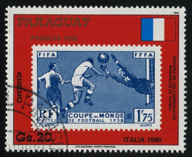 Πρωταθλήματα Γαλλία ποδοσφαίρου Παγκόσμιου Κυπέλλου στοκ εικόνες με δικαίωμα ελεύθερης χρήσης