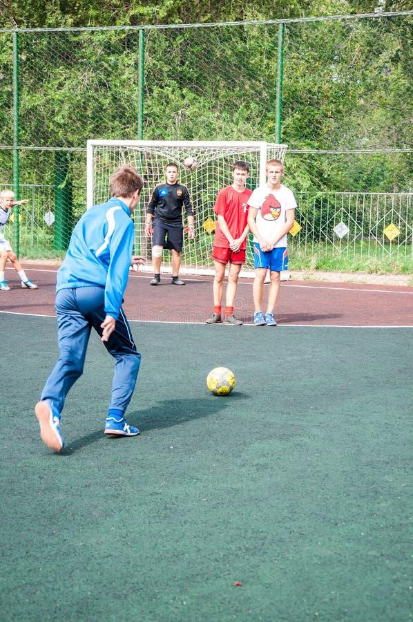 Πρωταθλήματα στο μίνι-ποδόσφαιρο στοκ φωτογραφία με δικαίωμα ελεύθερης χρήσης