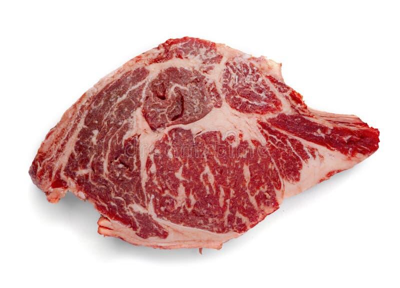πρωταρχική μπριζόλα USDA πλευ στοκ φωτογραφίες