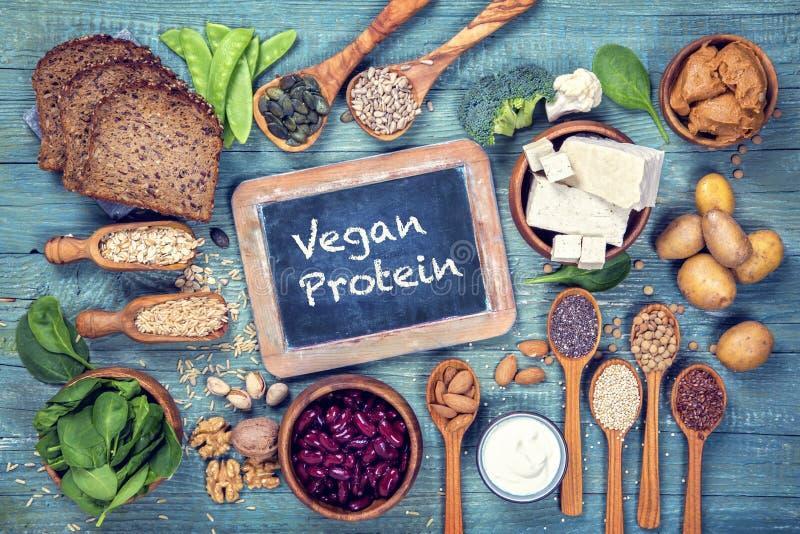 Πρωτεϊνικές πηγές Vegan στοκ φωτογραφία με δικαίωμα ελεύθερης χρήσης