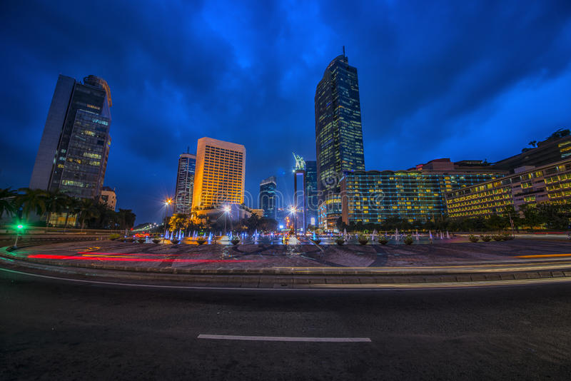 Πρωτεύουσα της Τζακάρτα της Ινδονησίας στοκ φωτογραφία με δικαίωμα ελεύθερης χρήσης