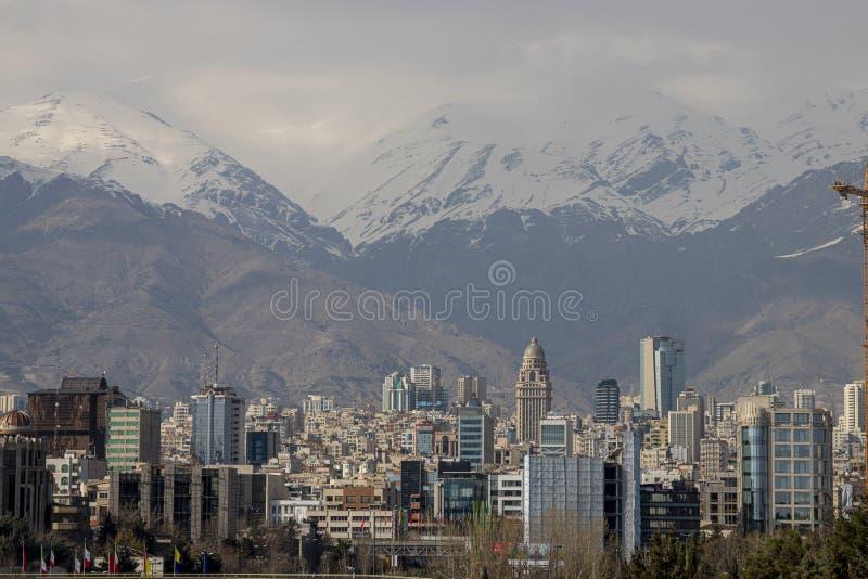 Πρωτεύουσα του Ιράν στοκ εικόνα με δικαίωμα ελεύθερης χρήσης