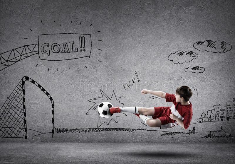 Πρωτοπόρος ποδοσφαίρου στοκ φωτογραφία με δικαίωμα ελεύθερης χρήσης