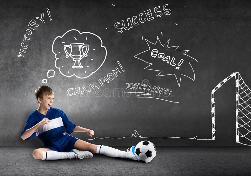 Πρωτοπόρος ποδοσφαίρου στοκ φωτογραφίες