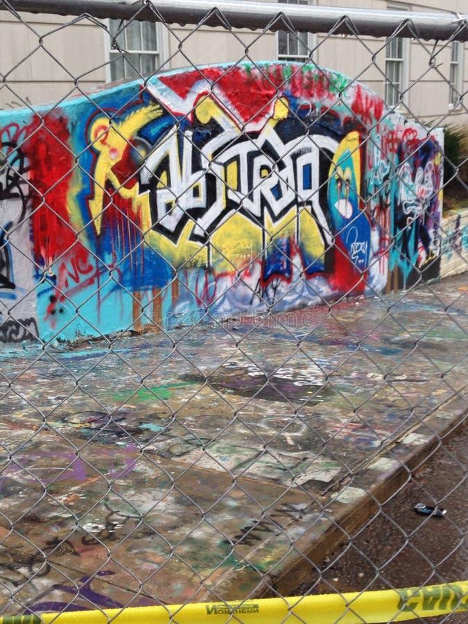 Πρωτότυπα γκράφιτι στοκ φωτογραφία με δικαίωμα ελεύθερης χρήσης